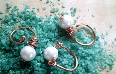 rings with perls