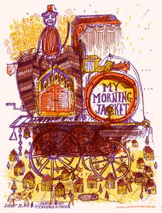 My Morning Jacket - Band Of Horses - Trampled By Turtles