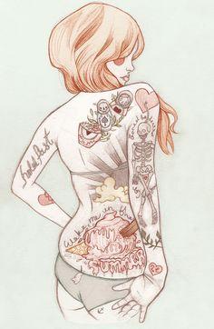 Liz Clements. Illustration