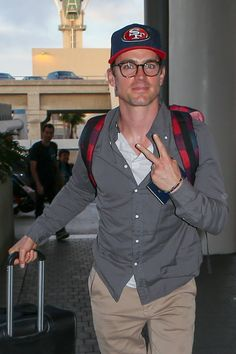 Matt Bomer and his husband Simon Halls Arrive at LAX Airport-3