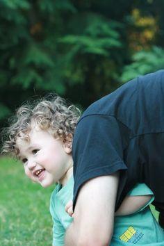 April Carnival of Natural Parenting: Caring for kids' curls