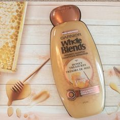 """WEE WELCOME """"The Honey Treasures blend is designed to heal and protect your hair at the same time, so consider this your secret weapon! """""""