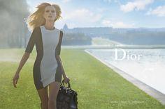 """Daria Strokous para a campanha 2014 da Dior, """"Secret Garden"""", por Inez Van Lamsweerde e Vinoodh Matadin."""