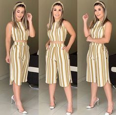 Shop sexy club dresses, jeans, shoes, bodysuits, skirts and more. Floral Pants Outfit, Dress Outfits, Fashion Outfits, Simple Dresses, Casual Dresses, Summer Dresses, Classy Outfits, Casual Outfits, Ladies Day Dresses
