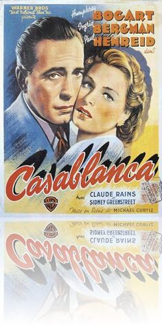 Casablanca Poster - 7,99 €