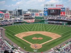 Washington Nationals Ballpark....our favorite place to catch a game.  GO NATS!!!