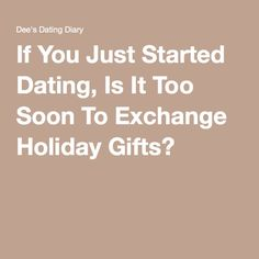 What to get your boyfriend for christmas when you just started dating