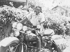 Bessie Stringfield-Founder of the Iron Horse Motorcycle Club  At 16 years of age, Bessie Stringfied was an African American woman who became instrumental in transforming gender and racial biases aboard her first bike, a 1928 Indian Scout.