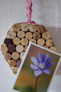 Pinwand aus Korken / Memoboard made from corks / Upcycling