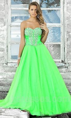 Wanna make a statement this year at prom? Let your dress do the talking