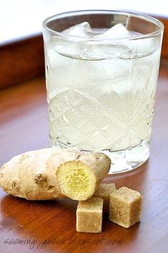 Natural body cleansing drink - shredded ginger, lemon juice, honey, water ---5 or 6 glasses a day, lose weight and detox