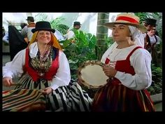 Tenerife. Vestimenta tradicional Canaria. La Orotava. s XVIII XIX - YouTube