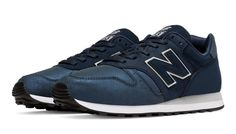 New Balance 373 Modern Classics, Navy with Silver