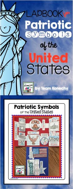 This has all you'll need to create an awesome lapbook about United States Patriotic Symbols with your first or second grade students. $