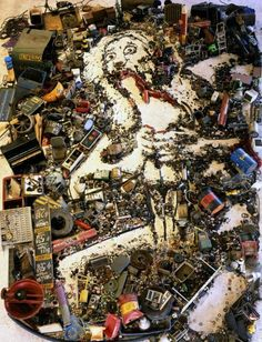 Vik Muniz. Inspired by Goya