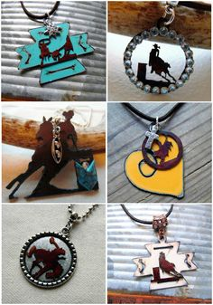 Unique Rodeo Jewelry by Whippoorwill Valley. | whippoorwillvalley.etsy.com