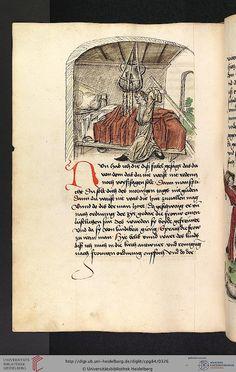 Cod. Pal. germ. 84: Antonius von Pforr: Buch der Beispiele ; Passionsgebet (Schwaben , um 1475/1482), Fol 158v