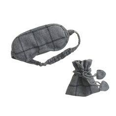 """Your siesta just a got a little more stylish. <ul><li>3 1/2""""H x 7 1/2""""W.</li><li>Pouch: 5"""" H x 4 1/2"""" W.</li><li>Import.</li></ul>"""