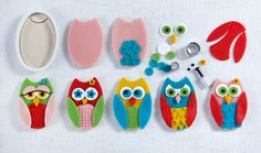Marzipan Owl Biscuit Recipe - Renshaw.  I'm a sucker for a cute owl and marzipan rocks my world.