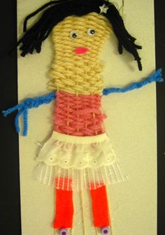 Character weaving: self portrait or character in a book