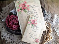 Vintage Romantic Roses and Lace Wedding by AVintageObsession, $85.00