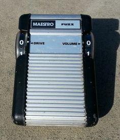 Maestro MFZ 1 Vintage Fuzz Pedal Black Keys   eBay