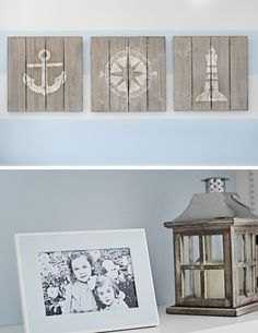Lovely Powder Blue And White Nautical Baby Boy's Nursery Design | Kidsomania