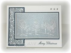 Lovely as a Tree in silver