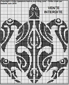 Tortue motif tribal