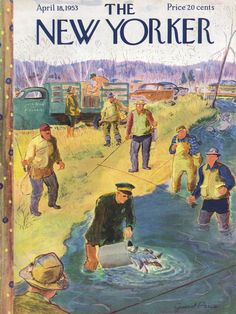 The New Yorker - Saturday, April 18, 1953 - Issue # 1470 - Vol. 29 - N° 9 - Cover by : Garrett Price