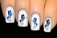 BUTTERFLY SERIES Nail Art Water Transfer Decal Sticker- ♥ Rhapsody ♥ #034