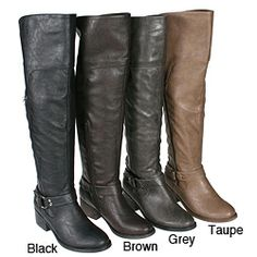 Luxury Grey Boots Cute Boots Tall Boots Motorcycle Boots Women Motorcycle