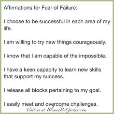 Today's Affirmations