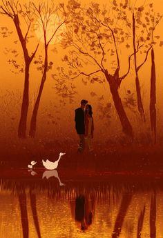 Fall in Fall. #pascalcampion