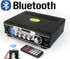 New Hot Sale Publisher 12V / 220 amp 12V Car Bluetooth USB / SD / MMC Card Best HiFi Digital Radio AV Amplifier Consumer Electronics