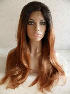 Ombre Beauty Full Lace Front Wig 20-24 inches!! | GoddessBeautyWigs - Accessories on ArtFire