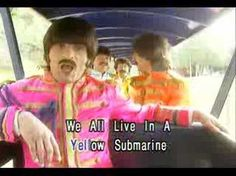 The other song I was singing in. 2nd grade: Yellow Submarine, by the Beatles