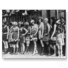 Beautiful Women and One Cute Little Girl (1920) Postcard by mapshoppe