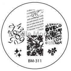 Bundle Monster New Stamping Plates - Preview #bundlemonster  #shopbm