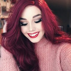 WEBSTA @ hailiebarber - Sorry, Ariel who?? ✨ in LOVE with this wig from @powderroomd! Their wigs always look so natural and this one suits me especially well. It's like middle school Hailie was revived haha! I used to dye my hair this color, even though I do have natural red hair, and sometimes I do miss it dearly but I'll never go back to red  Hence why this wig is my new fav! -This look is still up on @artistcouture's snapchat so be sure to check out that tutorial if you're interested ...