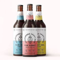 Too early in the week for a beer, but we can have these on chill till Friday? Designed by Food Packaging Design, Beverage Packaging, Bottle Packaging, Coffee Packaging, Craft Beer Brands, Craft Beer Labels, Wine Labels, Bottle Labels, Beer Label Design