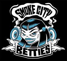 ToRD's Smoke City Betties Roller Derby Logo