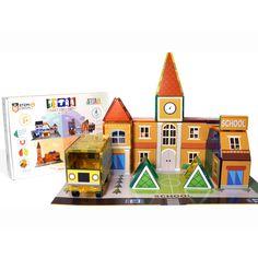 Tytan™ Tiles Cityscape Magnetic Tiles Building Kit