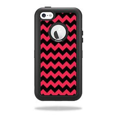 Skin Decal Sticker for OtterBox Defender iPhone 5C Case Skins Zig Zag Chevron