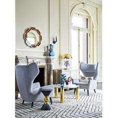 Jonathan Adler Milano Wing Chair