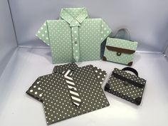 Father's Day Shirt Card and Briefcase