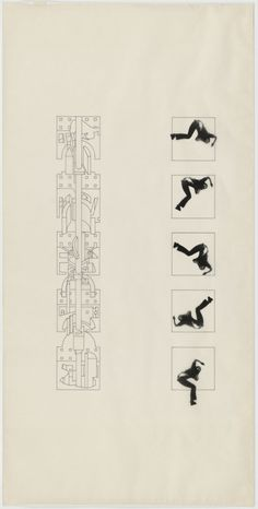 The Manhattan Transcripts Project, New York, New York, Episode The Tower (The Fall). Paper Architecture, Architecture Design, Movement Architecture, Architecture Diagrams, Futuristic Architecture, New York Drawing, Movement Drawing, Bernard Tschumi, Comic Book Layout