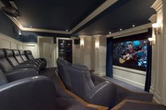 Theater room, if money were no object, and even then it could be on a smaller scale than this.