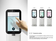 Water Touch on Behance Types Of Buttons, Smart Water, Water Dispenser, User Experience, Drinking Water, User Interface, Twinkle Twinkle, Ui Design, How Are You Feeling