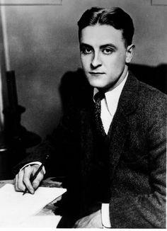 F. Scott Fitzgerald- so handsome.